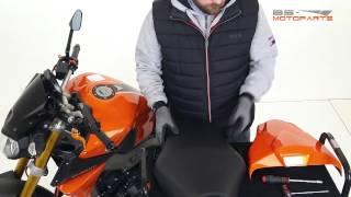 Tutorial Pillion seat cover Bodystyle Yamaha MT-09