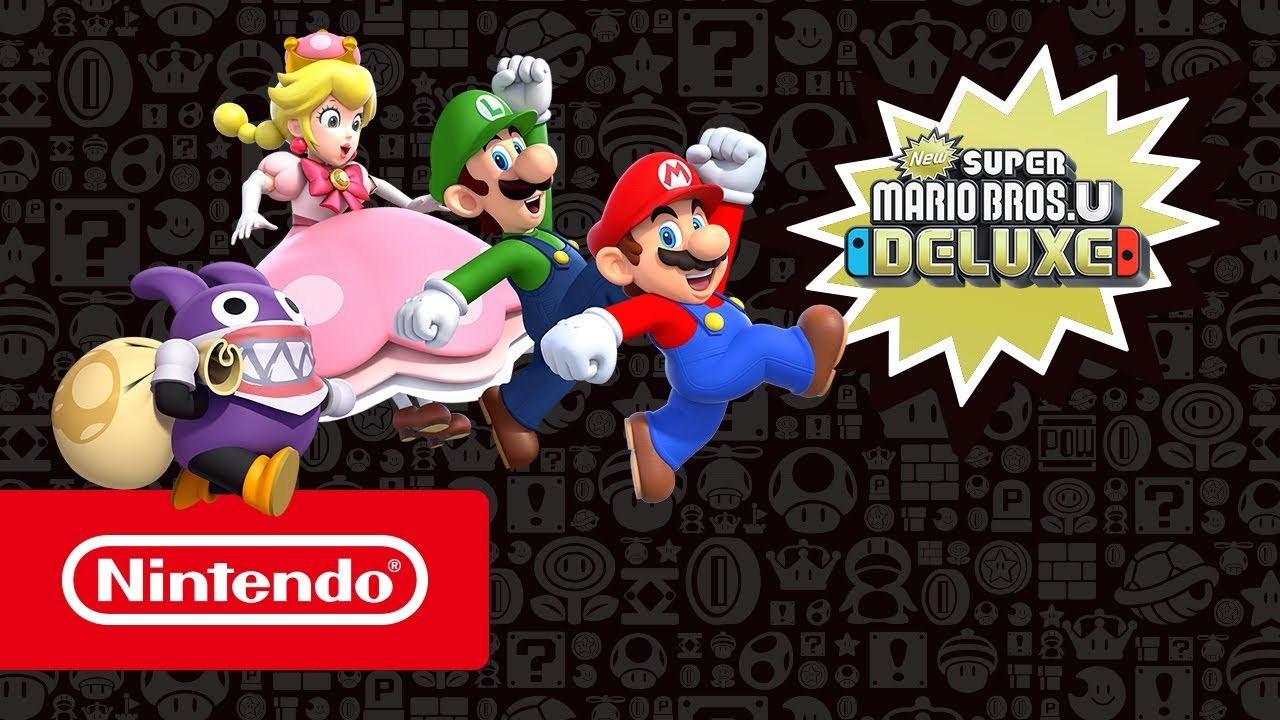 New Super Mario Bros U Deluxe Nintendo Switch Jeux
