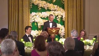 President Obama and Prime Minister Trudeau Deliver Remarks at State Dinner