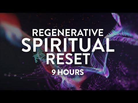 Regenerative Spiritual Reset Extended Play  9 Hours  Deep Healing Meditation Music  111Hz
