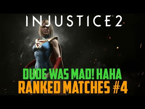 Injustice 2 - [Supergirl] Rankes Matches #4 - THE SALT FUELS ME!