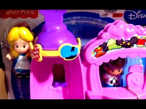 ALICE IN WONDERLAND MAD HATTER SHOP with ALICE IN WONDERLAND by Little People & Disney