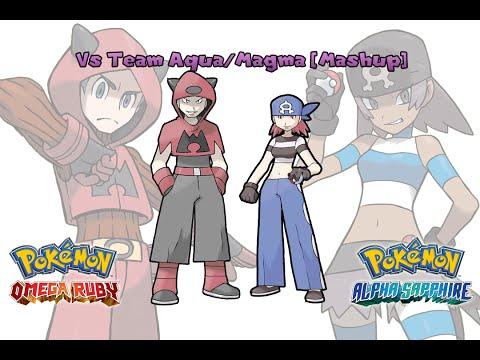 Pokemon OR/AS & R/S/E - Team Aqua/Magma Battle Music [Mashup] HQ