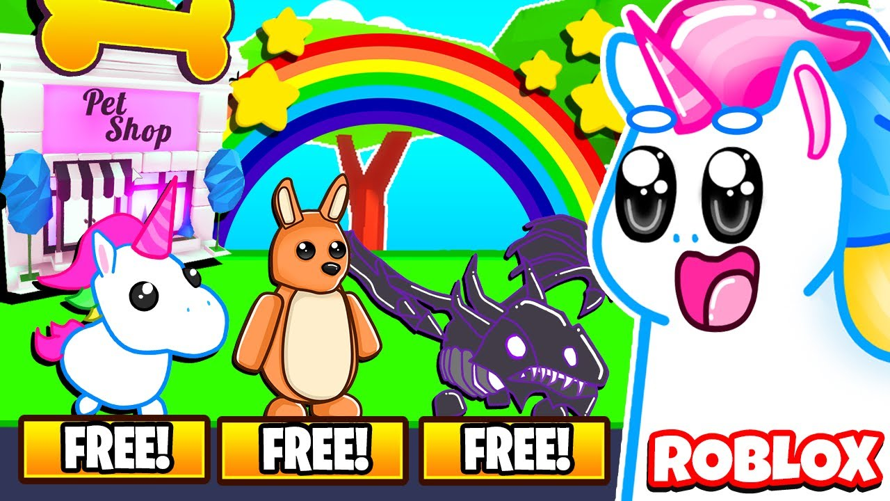 This SECRET Pet Shop Gives You FREE LEGENDARY PETS in Adopt Me! Roblox Adopt Me