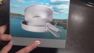 Набор посуды Primus Classic Mini set распаковка и обзор.