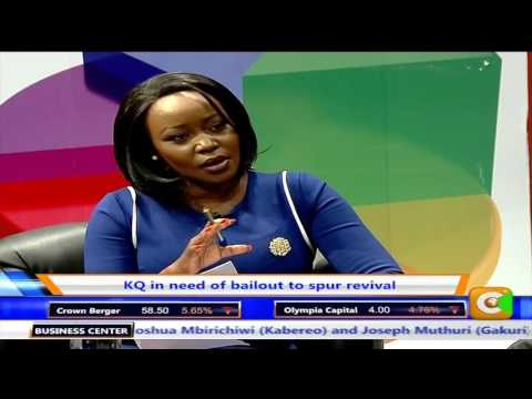 Business Centre interview with KQ CEO, Mbuvi Ngunze