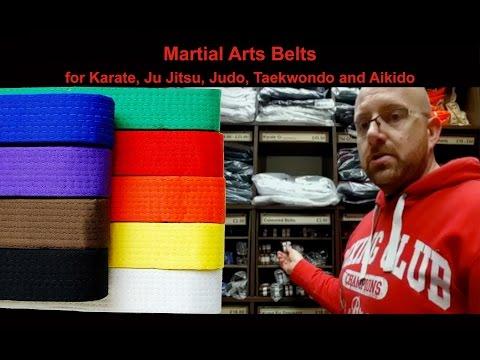Buy Martial Arts Belts for sale at Enso Martial Arts Shop