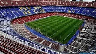 Майнкрафт  Стадион FC Barcelona Camp nou