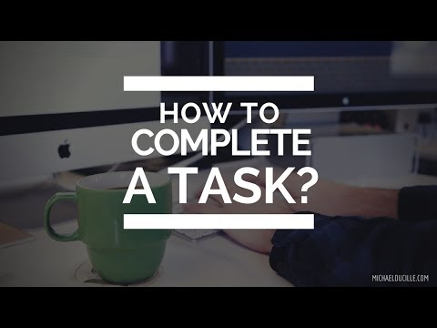 The Art of Execution | How To Complete A Task?