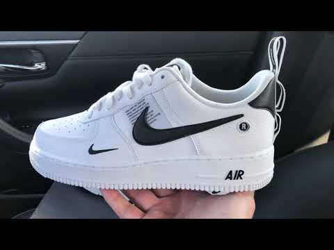 air force 1 low utility bianche