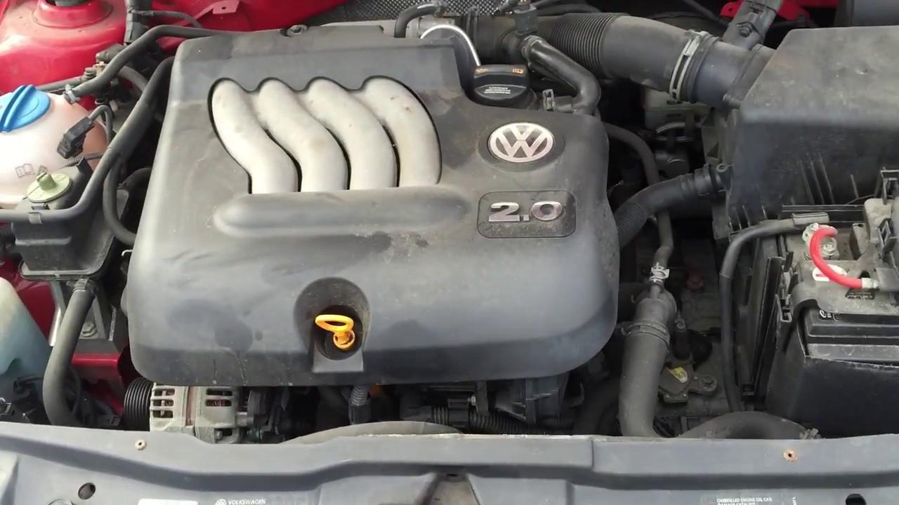 VW Jetta City 20L BEV Engine For Sale MK4  YouTube