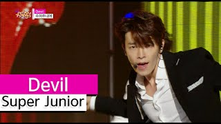 Gambar cover [HOT] Super Junior - Devil, 슈퍼주니어 - 데빌, Show Music core 20150808