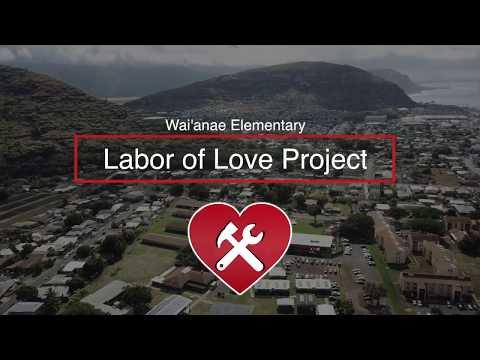 Hawaii State AFL-CIO Labor of Love-Waianae 2018