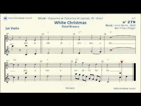 270 - White Christmas - (1st Violin) - YouTube