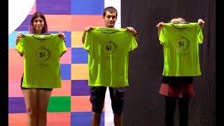 La festa del Sí - presentació oficial de la samarreta del 11S2017