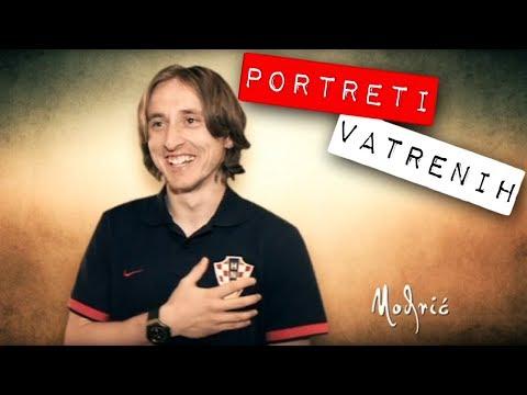 Luka Modrić - portreti 'Vatrenih', Robert Knjaz