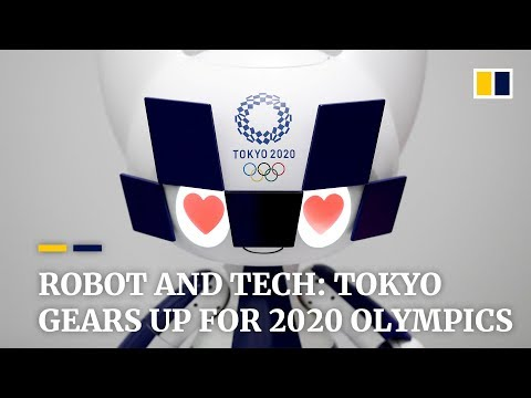Robots and tech: Tokyo gears up for 2020 Olympics