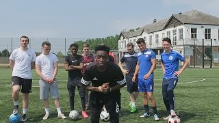 CROSSBAR CHALLENGE WITH MY SUNDAY LEAGUE TEAM!!!