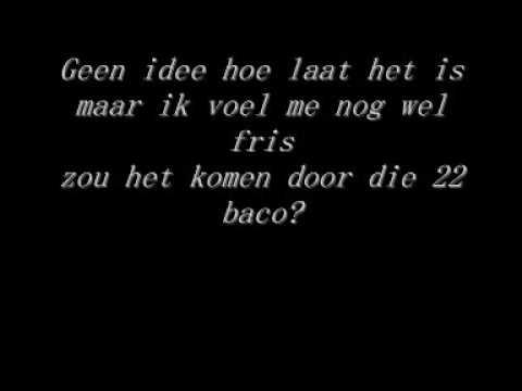 Lange Frans & Baas B -  22 baco met lyrics