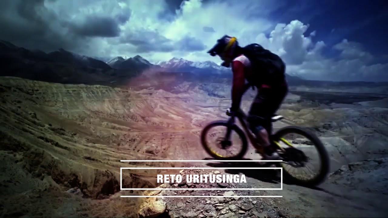 Carrera de ciclismo de montaña reto