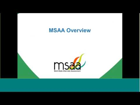 March 8, 2017 DC MSAA Test Administrator Training Webinar (10 a.m.)