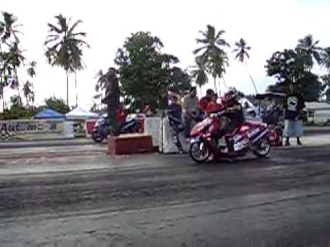 Rico Drag Strip >> PUERTO RICO TEAM MRP PARTS ON DRAG RACING SCOOTER - YouTube
