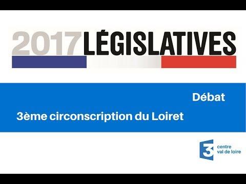 Débat : 3ème circonscription du Loiret pour les élections législatives