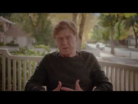 Robert Redford opposes Hillary Clinton and Donald Trump   (202 456 1111)