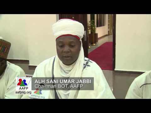 Day1   Interviews Alh Sani Umar Jabbi, Chairman BOT AAFP