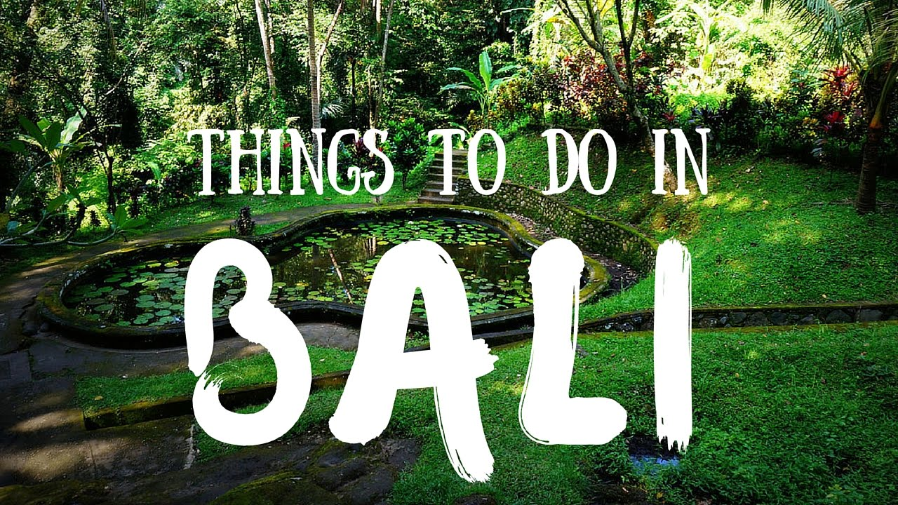 Things To Do In Bali Indonesia Top Attractions Travel Guide Youtube