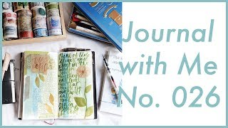 Journal with Me No. 026 | Midori Traveler's Notebook