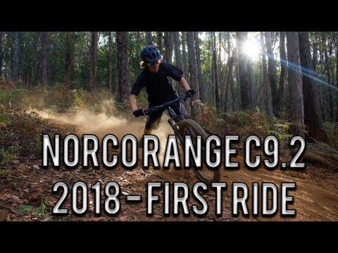 New Bike | 2018 Norco Range C9.2 | First Ride | Silvan - True Grit - Top Gun | MTB Edit
