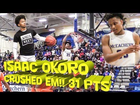 #2 McEachern INVINCIBLE⭐Isaac Okoro FEASTED || High School Basketball Highlights
