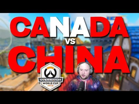 Canada vs China | Overwatch World Cup 2018 thumbnail