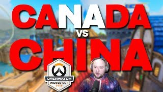 Canada vs China | Overwatch World Cup 2018