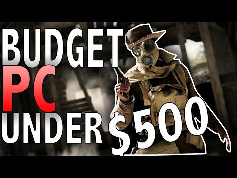 Best $400 Budget Gaming PC Build - RIP PS4 Pro (w/ Benc ...