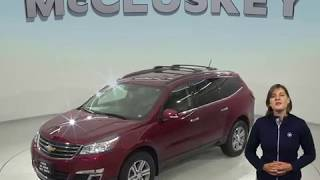 A98471GP Used 2015 Chevrolet Traverse 2LT AWD SUV Red Test Drive, Review, For Sale -
