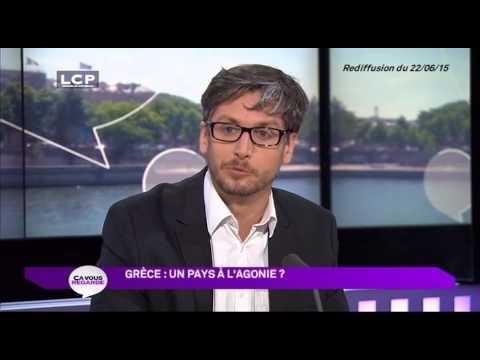La Chaîne Parlementaire  Ça vous regarde La Grèce à l'agonie  31 07 2015 19h30
