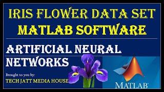 IRIS Flower data set tutorial in artificial neural network in matlab