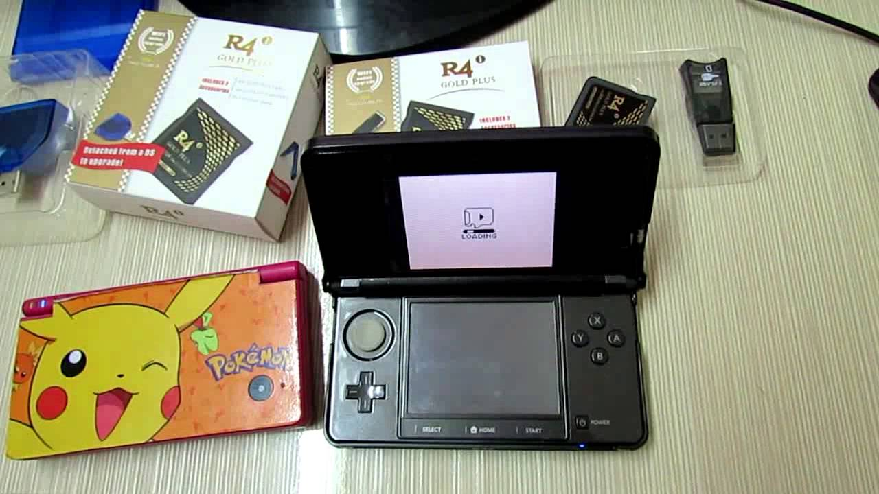 R4i gold 3ds wood for nintendo 2ds 3ds xl dsi xl ds with wood r4 - R4i Gold Plus Cards Firmware Updated For 3ds 4 5 0 10 Dsi 1 4 5 Flv Youtube