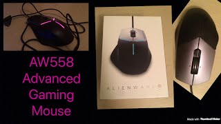 Alienware AW558 Advanced Gaming Mouse Review