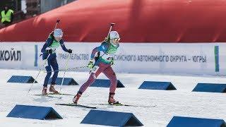 Чемпионат России по биатлону. Спринт женщины 7,5 км