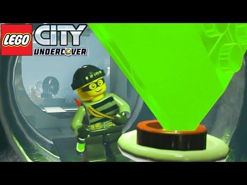 ROUBEI UMA ESMERALDA GIGANTE NO BANCO no LEGO City Undercover #08 Dublado em Português