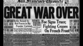 La Primera Guerra Mundial (IV). 1918, el fin de la guerra y la esquiva Paz