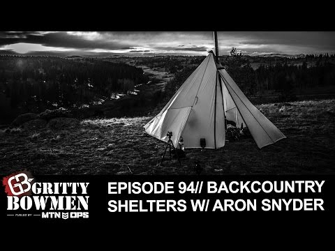 Episode 94: Backcountry Shelters with Aron Snyder