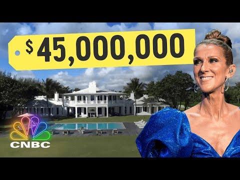Inside Celine Dion's $45,500,000 Island Oasis