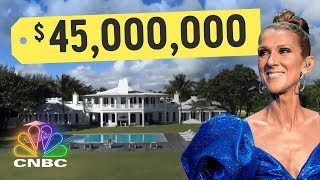 Download Inside Celine Dion's $45,500,000 Island Mansion | Secret Lives of The Super Rich | CNBC Prime Mp3 and Videos
