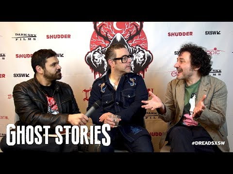 SXSW 2018 Interview Andy Nyman Jeremy Dyson - Ghost Stories