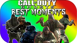 Call of Duty Ghosts BEST MOMENTS - Infected, Funny Moments, Fails, Epic Times, Hacks