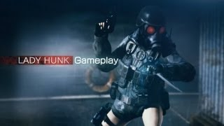 『BIOHAZARD REVELATIONS UNVEILED EDITION』LADY HUNK GAMEPLAY
